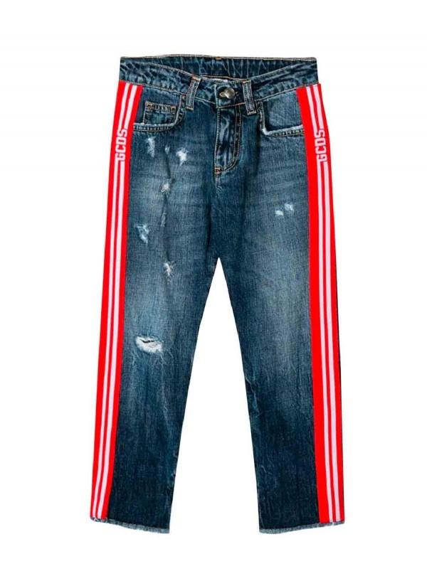 Jeans GCDS bimbo 020459 blu...