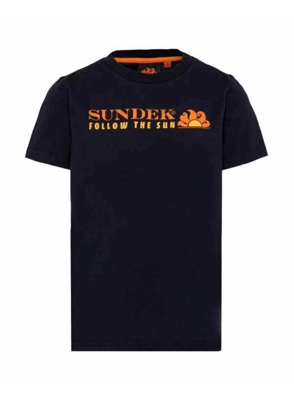 T-shirt Sundek bimbo mini...