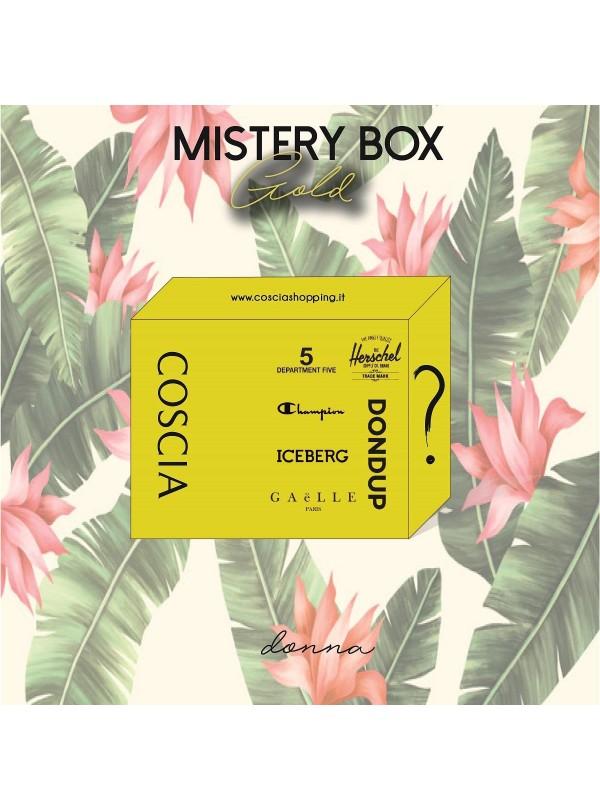 Mistery box Gold donna 150...