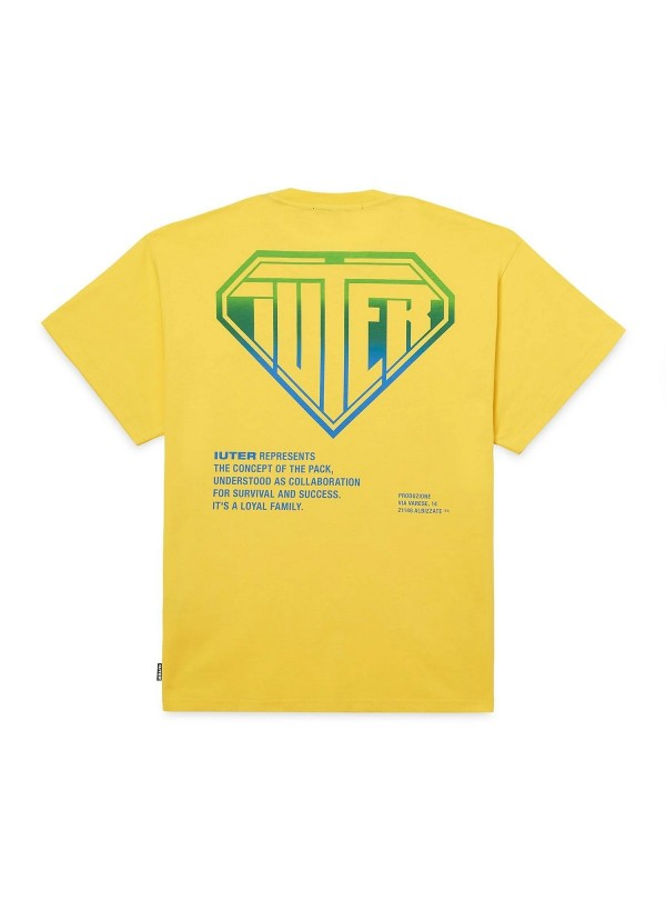 T-shirt Iuter uomo Double...
