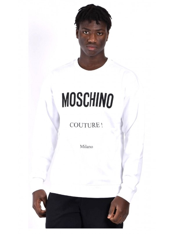 Felpa Moschino uomo Logo...