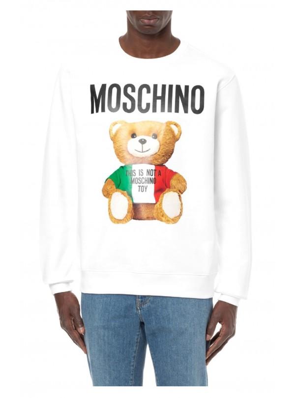 Felpa Moschino uomo Italian...