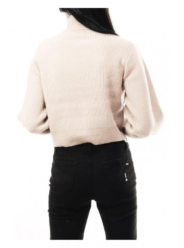 Felpa Sun 68 uomo F28111 34 army knit rib cotton fl grigio fw18